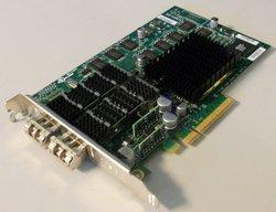 NETAPP X1008A-R6 111-00293+A2 DUAL PORT 10GBE NIC TOE FC W// 2X TRX10GVP2001CH01